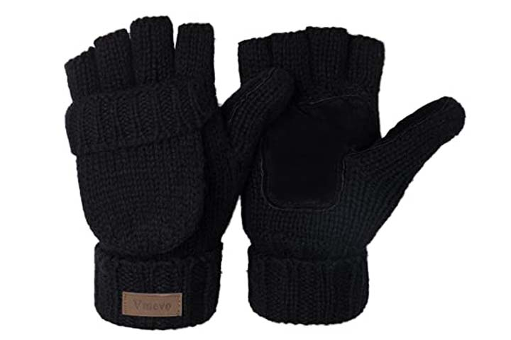 ViGrace Fingerless Winter Gloves
