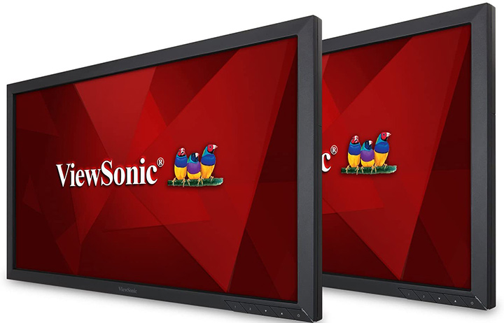 ViewSonic VA2452SM_H2 24 Inch Dual Pack Head-Only 1080p LED Monitors