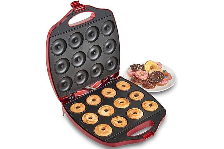 VonShef 12 Mini Donut Electric Maker Kit Set