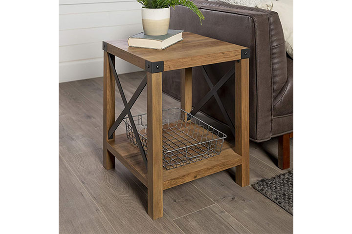 Walker Edison Furniture Company Small End Table