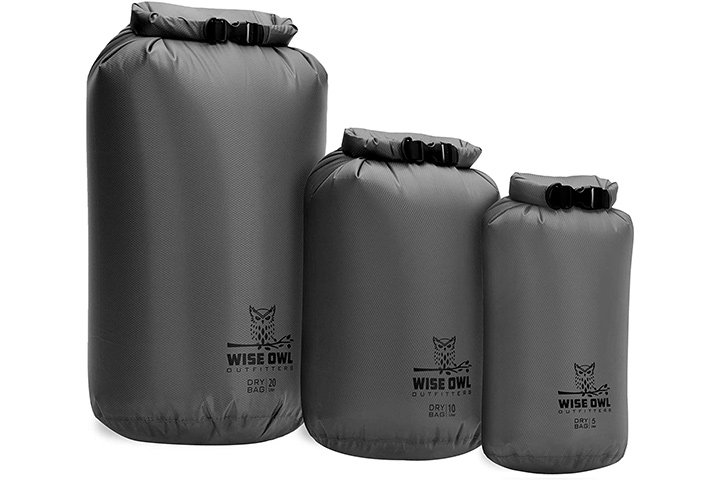 Wise Owl Outfitters Dry Bags Pack Of 3