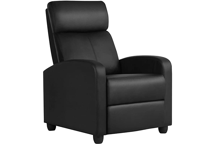YAHEETECH Recliner Chair PU Leather