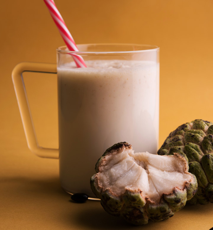 custard-apple-milk-shake