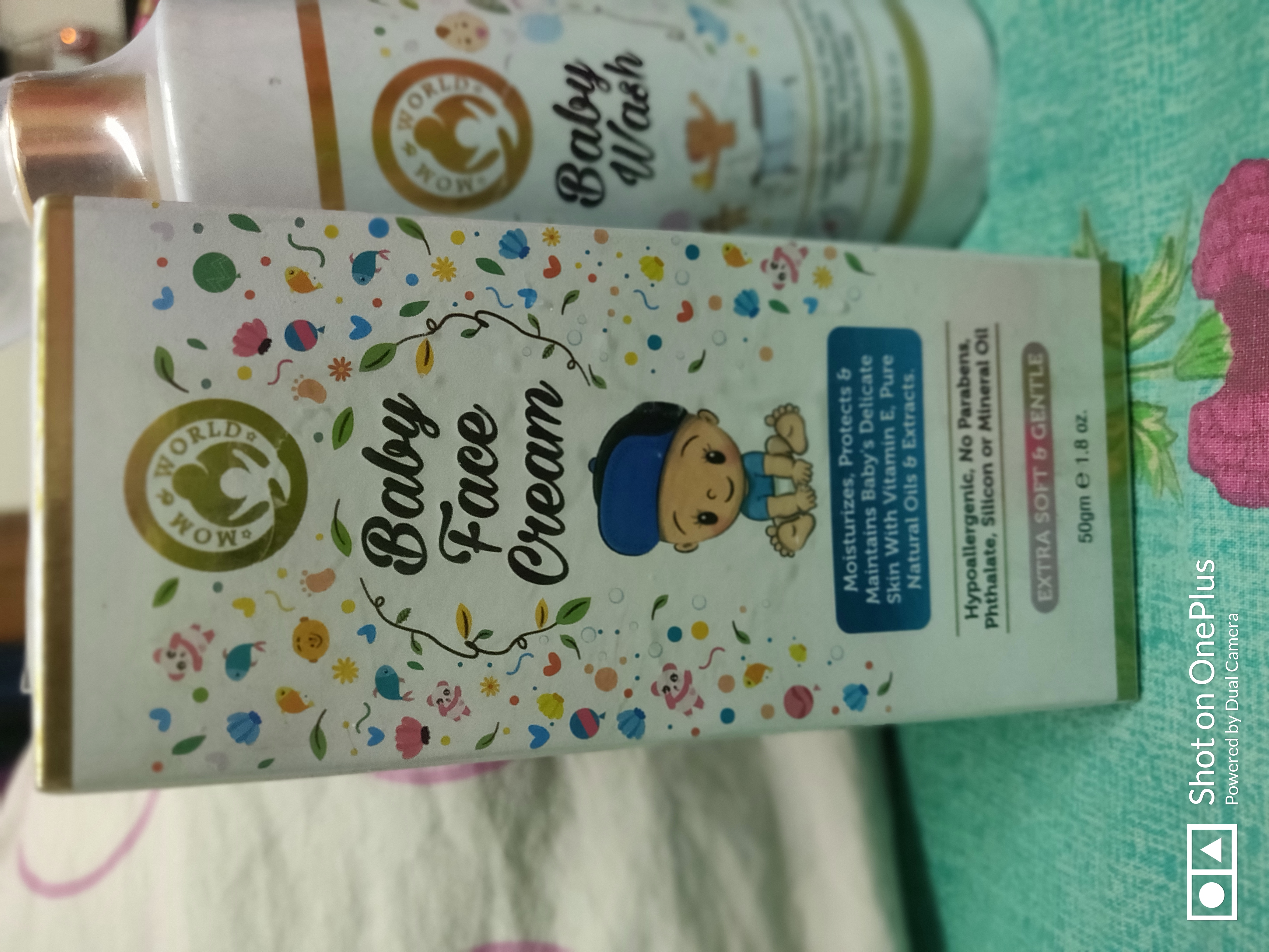 Mom & World Baby Face Cream-Smoothest Baby Face Cream-By arushi