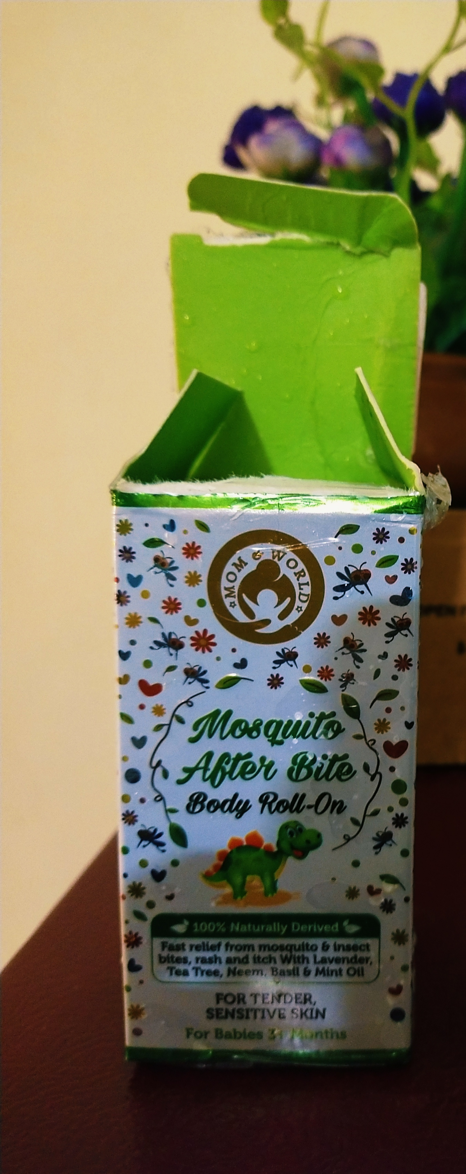 Mom & World Baby Mosquito Repellent After Bite Roll On-This is a savior and must have-By krim