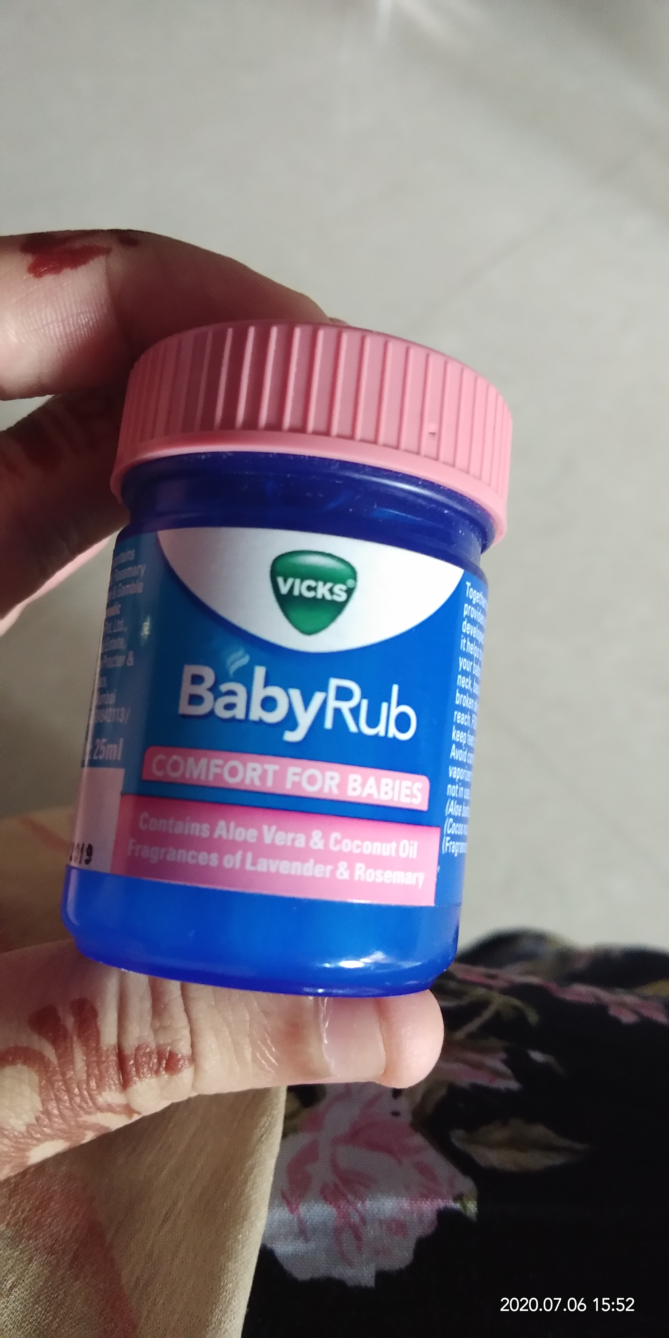 Vicks Baby Rub Soothing Ointment-Baby care-By arsalanuss