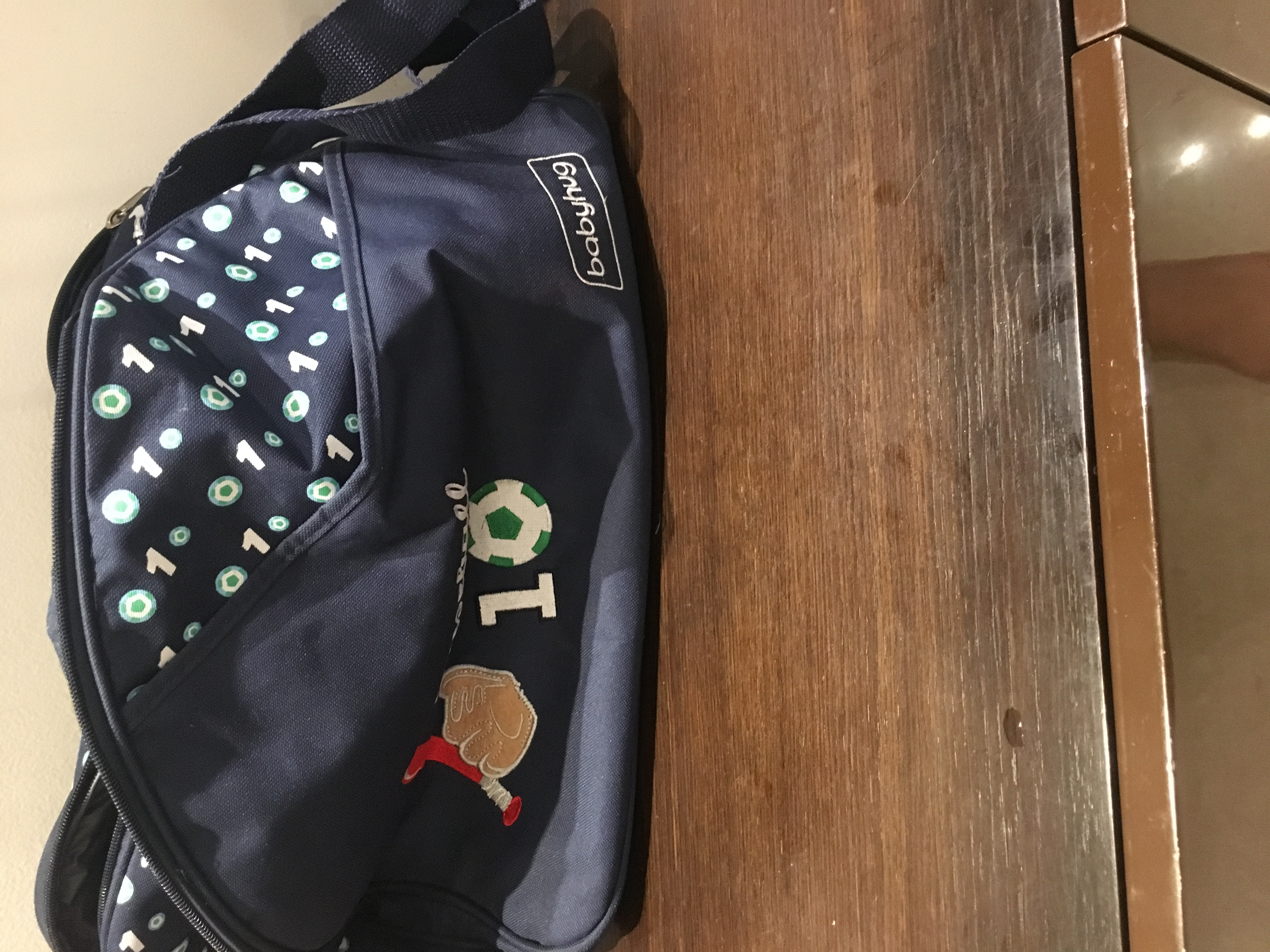 Babyhug Diaper Bag With Changing Mat-Very useful Nd spacious-By shilpachopra
