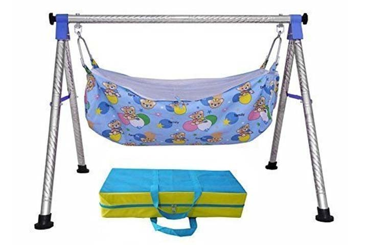 A to Z Hub Baby Cradle N Swing