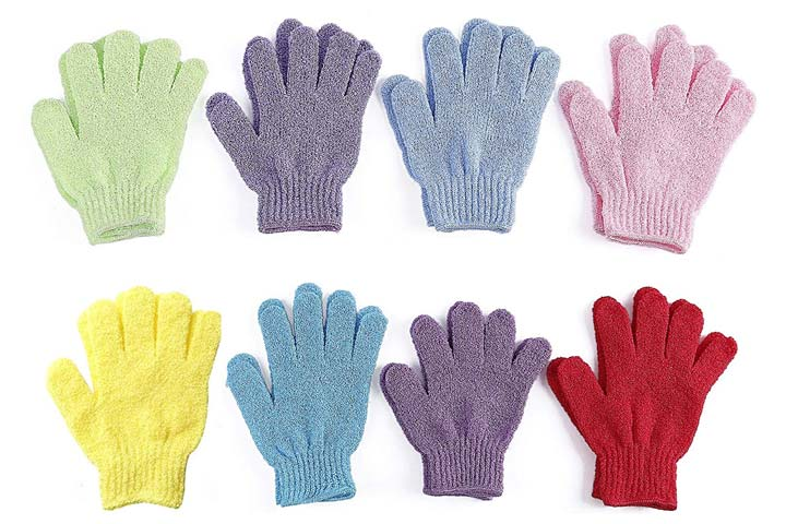 ATB Exfoliating Shower Gloves