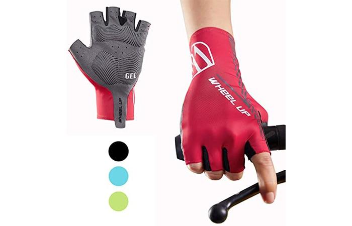 Achiou Half Finger Bicycle Gloves