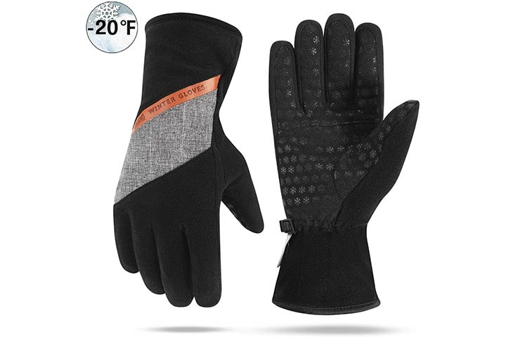 Aegend Winter Waterproof Gloves