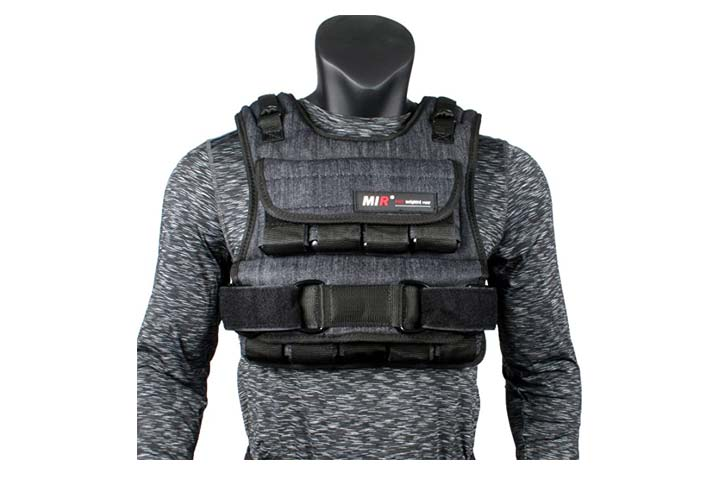 Air Flow Weighted Vest by miR