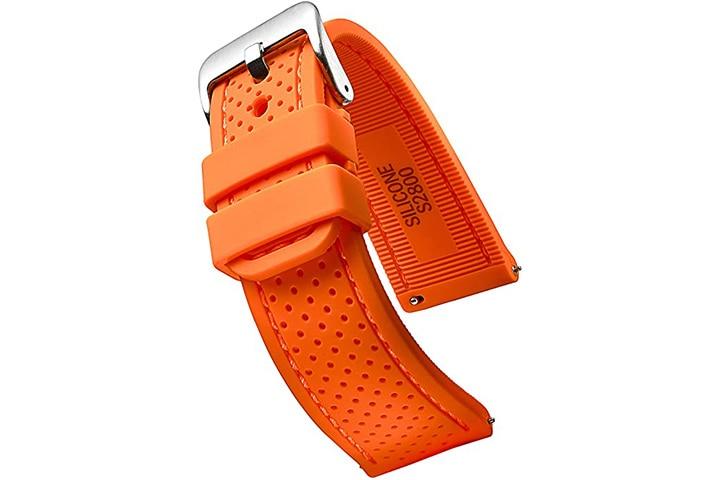 Alpine Premium Quality Silicone Rubber Watch Strap