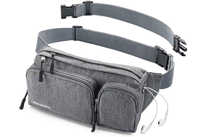 AmazonBasics RFID Travel Waist Belt
