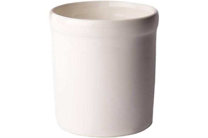 American Mug Pottery Ceramic Utensil Crock