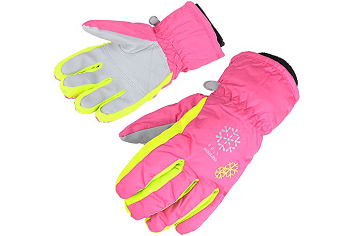 Amyipo Kids Winter Snow Ski Gloves