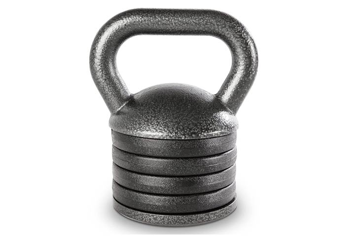 Apex Adjustable Heavy-Duty Exercise Kettlebell Weight Set