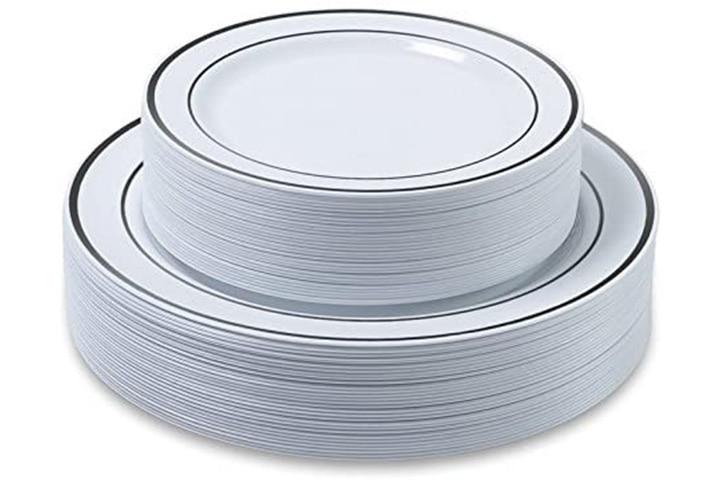 Aya's Cutlery Kingdom Disposable Plastic Plates