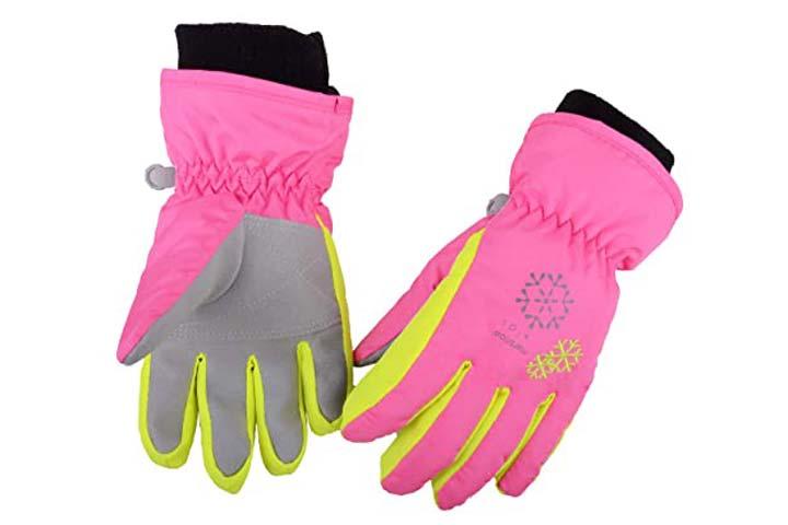 Azarxis Kids Children Snow Gloves