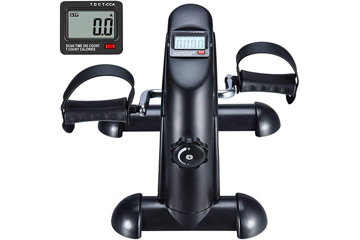 BOOKCYCLE Mini Exercise Bike Pedal Exerciser
