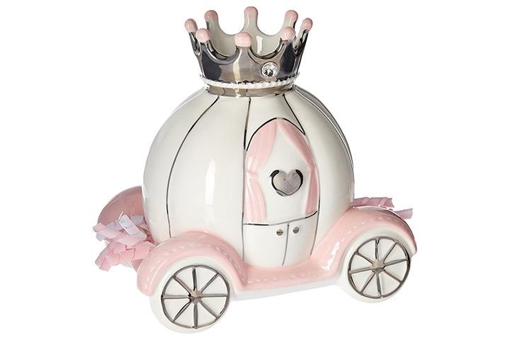 Baby Aspen Princess Carriage Piggy Bank