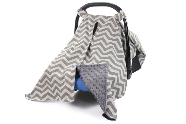 Baby Car Seat Canopy by MHJY