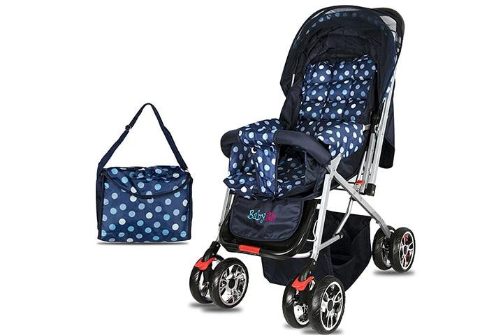 BabyGo Delight Reversible Baby Stroller & Pram