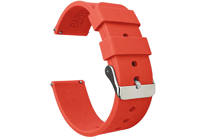Barton Watch Brands Soft Silicone Rubber Watch Straps