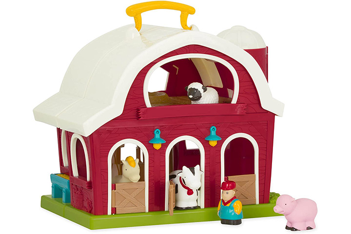 Battat – Big Red Barn – Animal Farm Play set