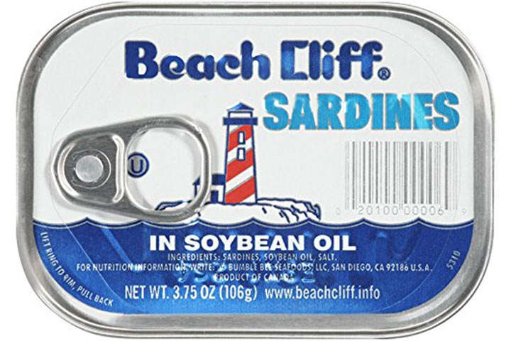 Beach Cliff Sardines In Soybean Oil