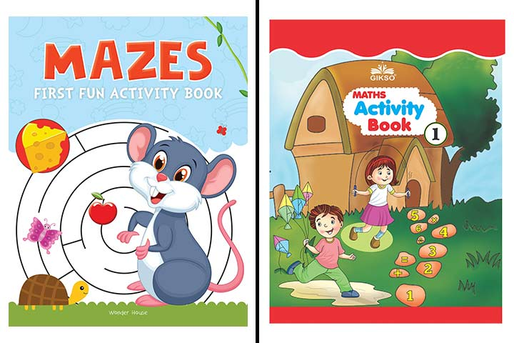 Best Activity Books To Buy For 3 Year Kid In India