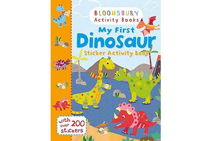 Bloomsbury Activity Books - My First Dinosaur Sticker Activity Book