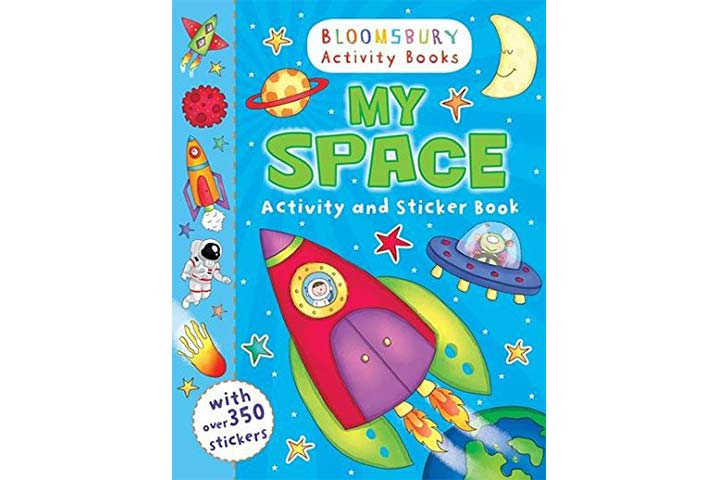 Bloomsbury Activity Books - My Space Activity and Sticker Book