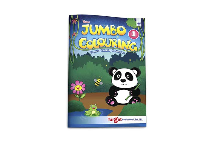 Blossom Jumbo Coloring Book
