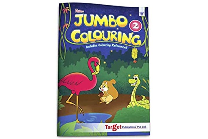 Blossom Jumbo Creative Coloring Book for Kids
