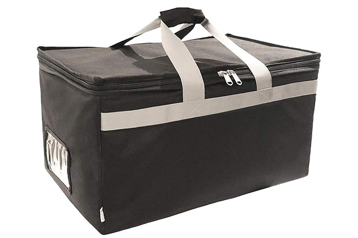 Brandzini Insulated Food Delivery Bag Carrier
