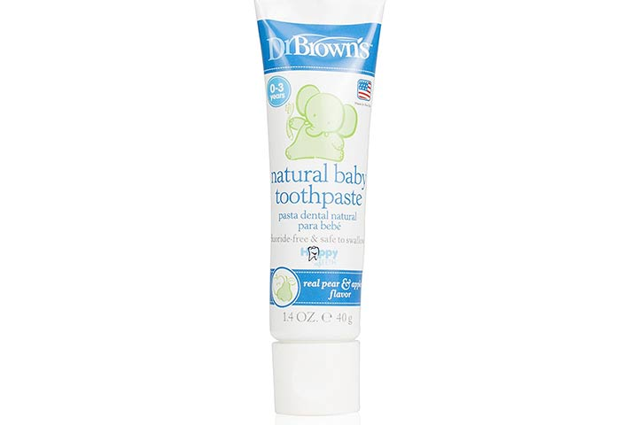 Brown's Natural Baby Toothpaste