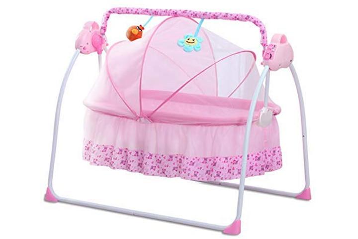 CBBAY Electric Baby Cradle