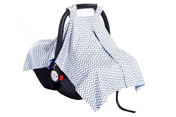 Carseat Canopy Cover by Shinena