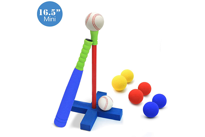 Cele Moon Kids Foam T-Ball Set