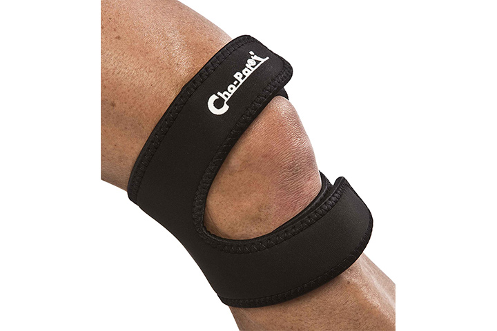 Cho-Pat Dual Action Knee Strap – Black