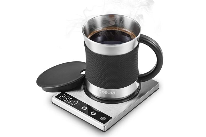 Cosori Coffee Mug Warmer Mug Set