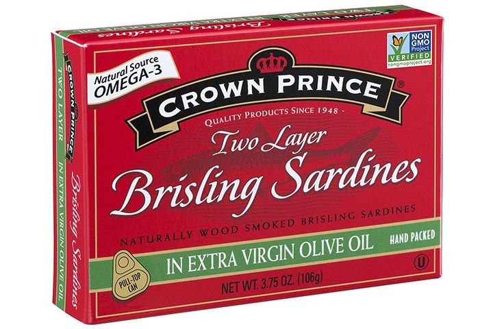Crown Prince Two Layer Brisling Sardines in Extra