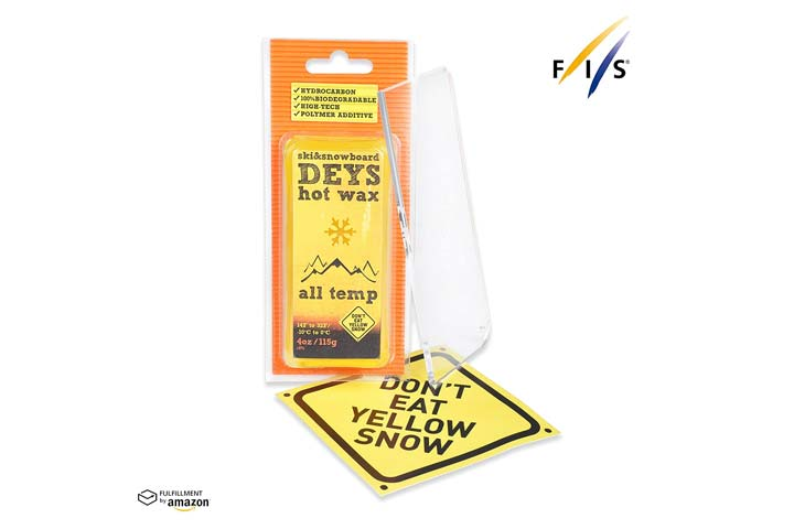 Dont Eat Yellow Ski & Snowboard Deys Hot Wax