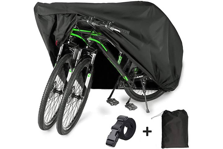 EUGO Bike Cover for 2 or 3 Bikes