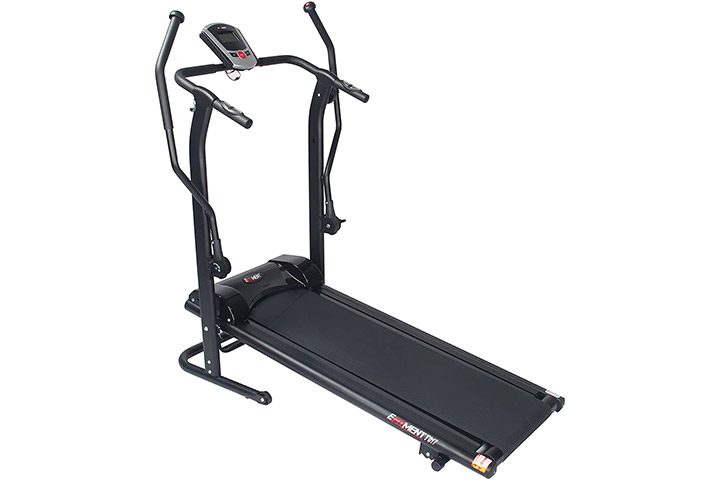 Efitment Adjustable Incline Magnetic Manual Treadmill
