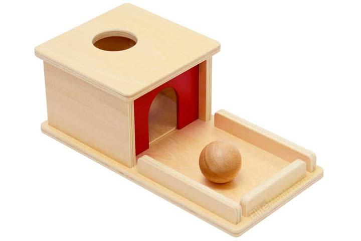 Elite Montessori Object Permanence Box