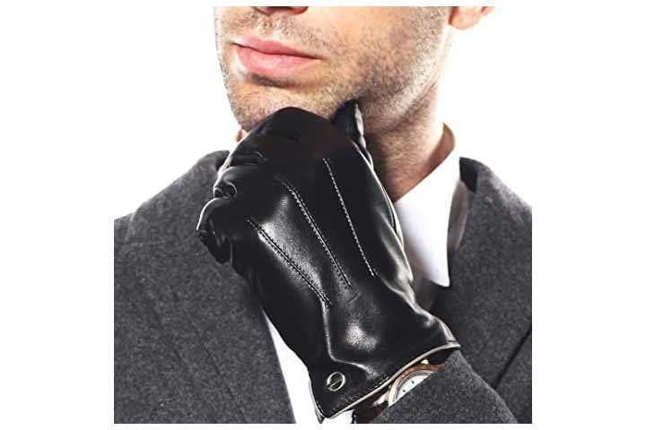 Elma Winter Leather Gloves