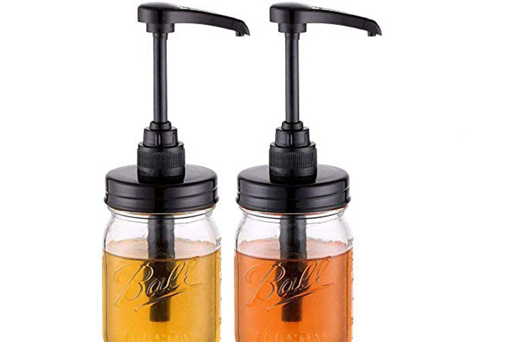 Elwiya Syrup & Honey Dispenser Pump Lid