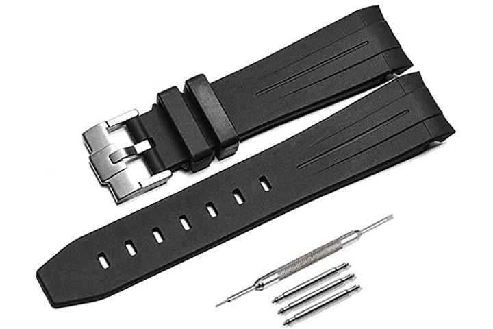 Finjin R Rubber Watch Strap